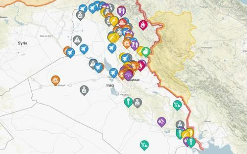 A snapshot of significant security incidents and threats to the oil industry in Iraq during July 2018