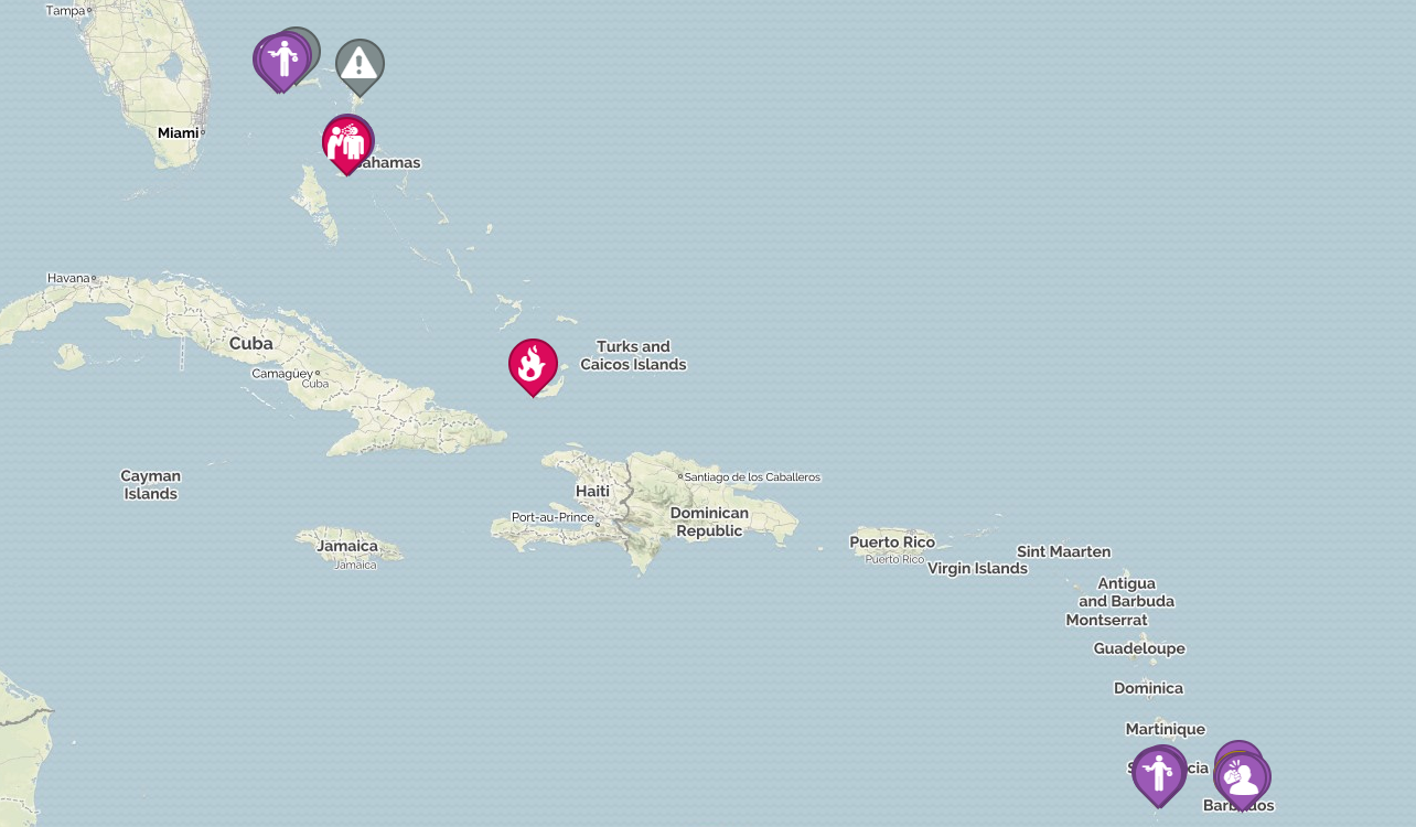 The security situation in the Caribbean Island in July 2018