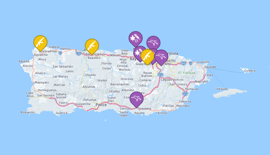 Security incidents in Puerto Rico – March 2018