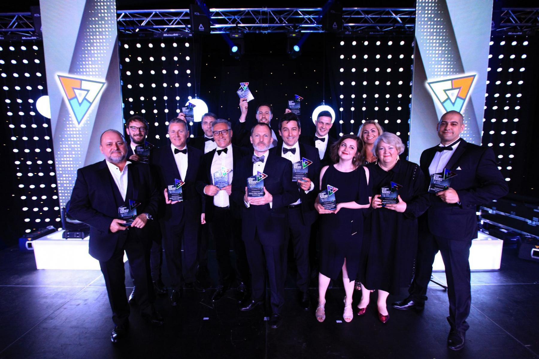 The winner of the North East Business Awards grand final 2019 at Hardwick Hall, Sedgefield