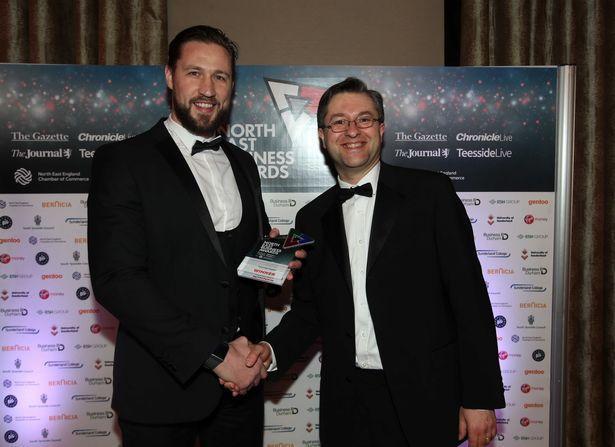 Intelligence Fusion winning the sub-regional heat for innovation in Durham, Sunderland and South Tyneside