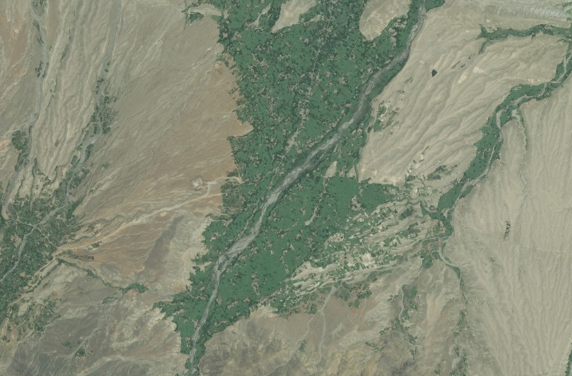 Most of the fighting between IS and the Taliban has taken place in the Wazir area of the Khogyani district