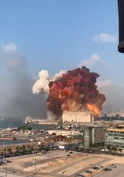 significant explosion at the Port of Beirut