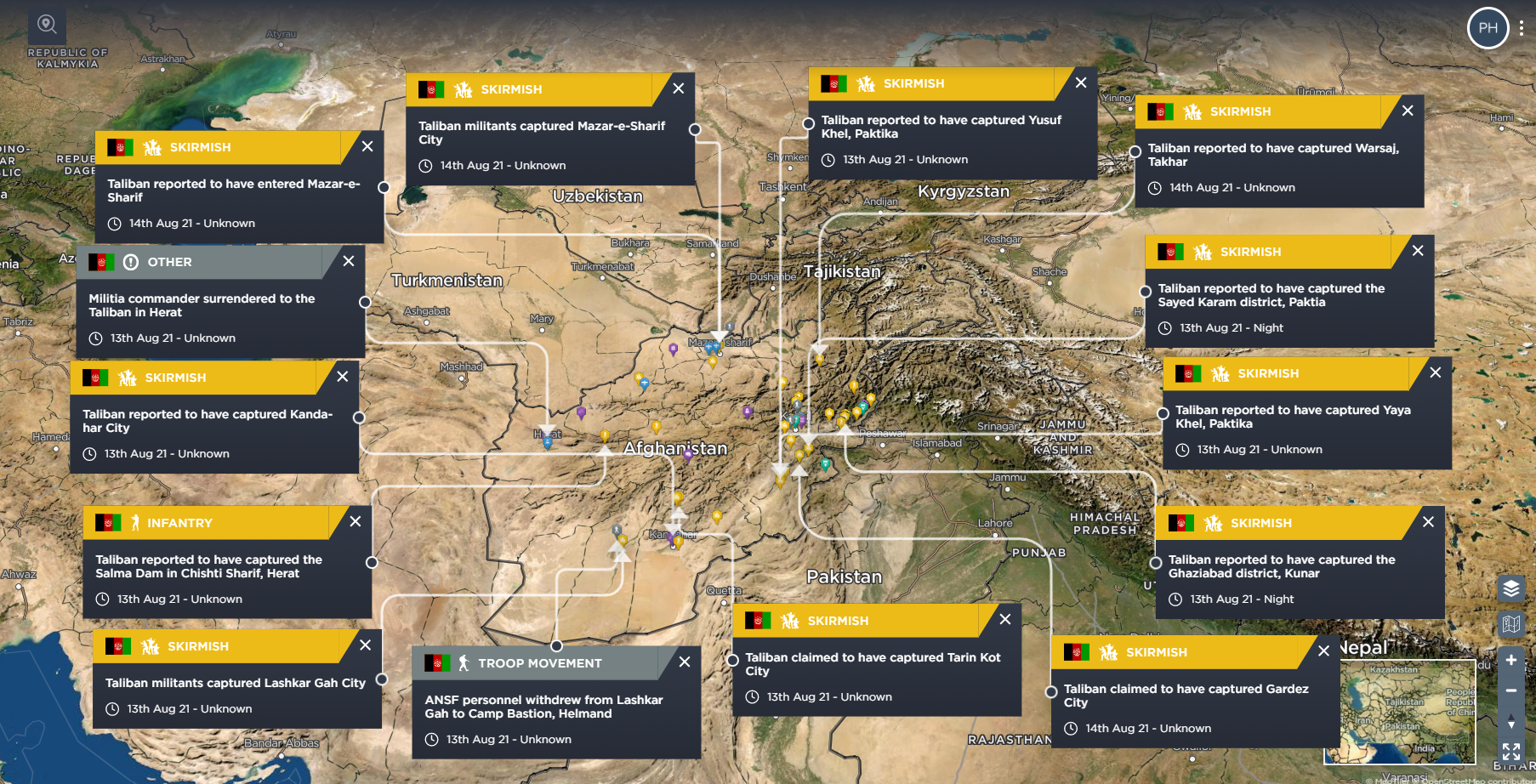 Afghanistan and Taliban Takeover 2021