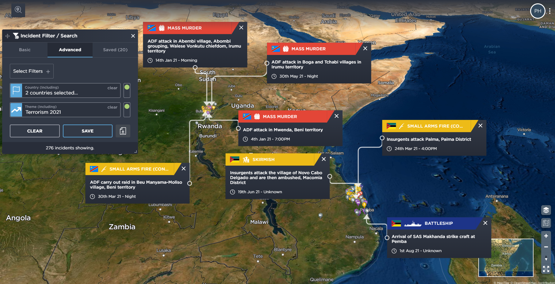 Islamic State Central Africa Province ISCAP ISIS Mozambique terrorism DRC Congo