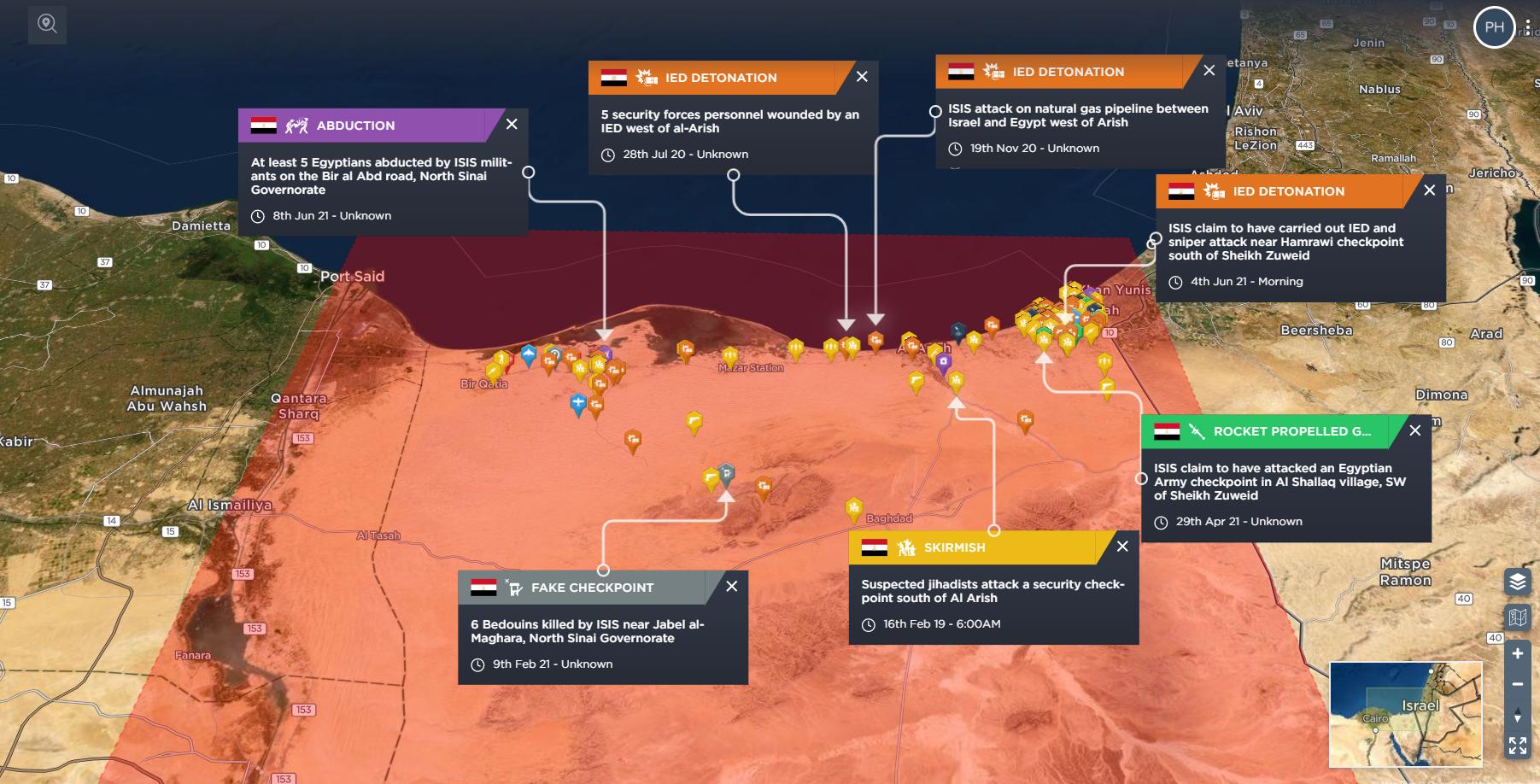 ISIS Sinai Islamic State Egypt