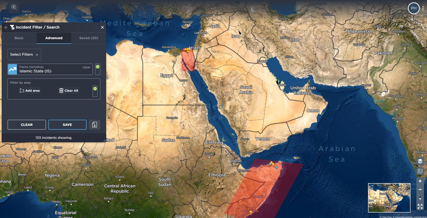 Egypt ISIS Sinai Islamic State Somalia